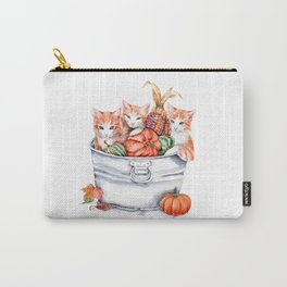 Harvest Kittens Carry-All Pouch