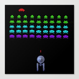 Video Game With A Twist Canvas Print