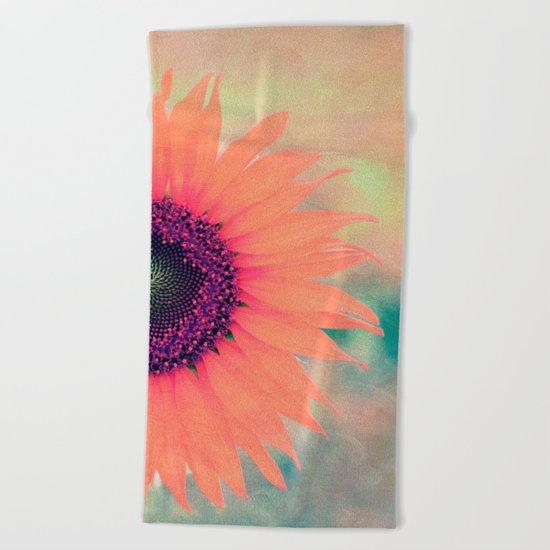 Flower I Beach Towel