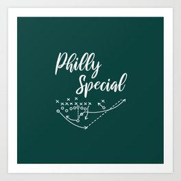 Philly Special Art Print