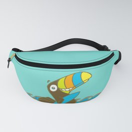 Surfin' Toucan! Fanny Pack