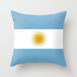 Argentina Throw Pillow