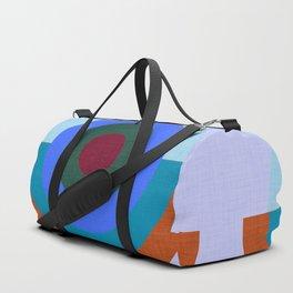 Solaris Blue  #homedecor #midcenturymodern #midcentury Duffle Bag