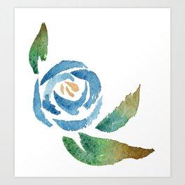 Blue Rose Kunstdrucke