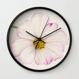 Sensation Cosmos Single Bloom Wall Clock