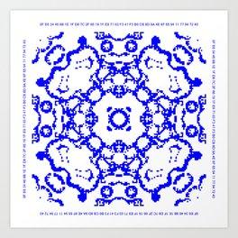 CA Fantasy Blue series #3 Art Print