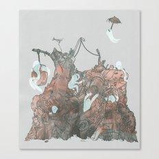 Junkyard Playground Canvas Print