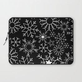 Invert snowflake pattern Laptop Sleeve
