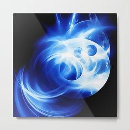 abstract fractals 1x1 reacc80c82 Metal Print