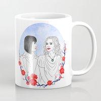 women Mugs featuring Women by Lili's Damn Fine Shop