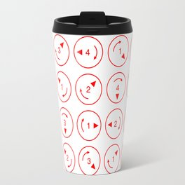 Rotations (Instructions and Code series) Travel Mug