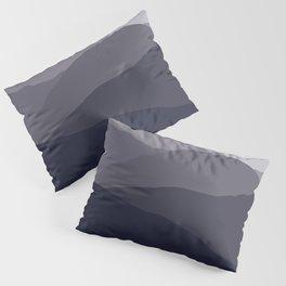 Black Tusk Mountain, Whistler Canada in grey Pillow Sham