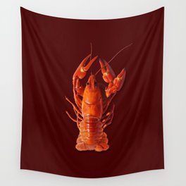 Pollution Awareness - Crawfish Wall Tapestry