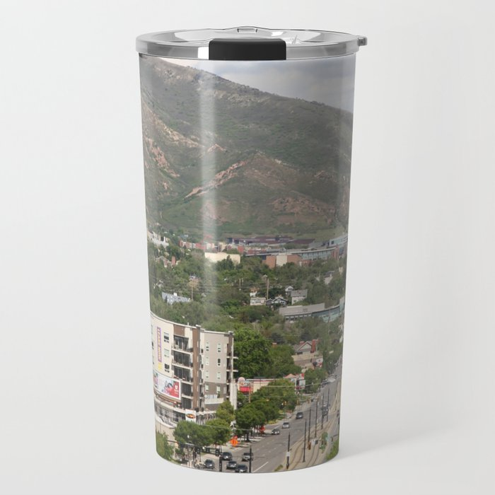 Salt Lake City Street Travel Mug