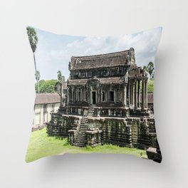 Angkor Wat, Cambodia Throw Pillow