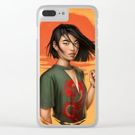 Mulan Clear iPhone Case