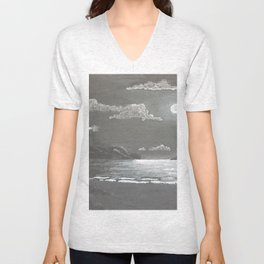 Quiet Night Unisex V-Neck