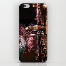Fireworks at Swansea SA1 iPhone & iPod Skin