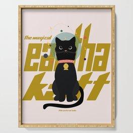 The Magical Eartha Katt Serving Tray