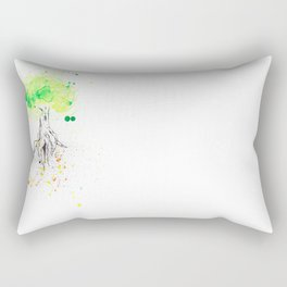 Rooted in Everything Rectangular Pillow