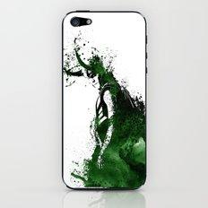 Loki Watercolor iPhone & iPod Skin