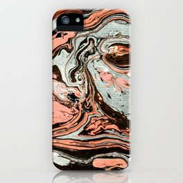 Abstract luxury painting marble iPhone Case