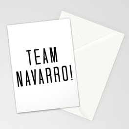 Team Navarro! Stationery Cards