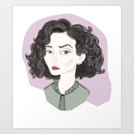 olya Art Print