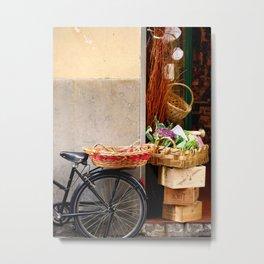 Italian Shop Front Metal Print