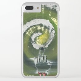 The Severed Birdie Clear iPhone Case