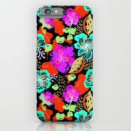 Hand Drawn Floral 0051  iPhone Case