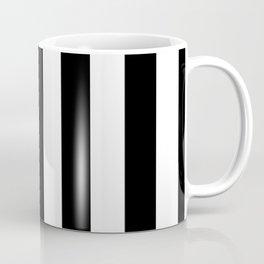 Stripes Black And White Coffee Mug