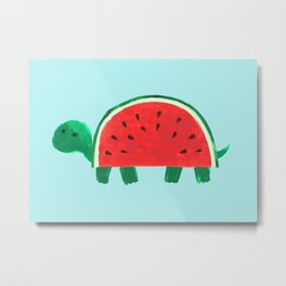 Slow Day Metal Print