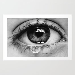 Tears For Fish Art Print