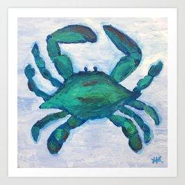 Getting Crabby Art Print