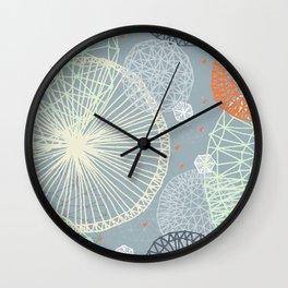 Geodesic by Friztin Wall Clock