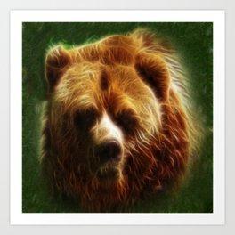 The Bear Spirit Art Print