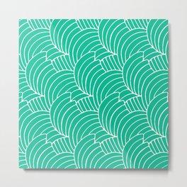 """Koloman (Kolo) Moser """"Textile pattern (Bogen)"""" (4) Metal Print"""