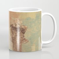king Mugs featuring King by Fernando Vieira