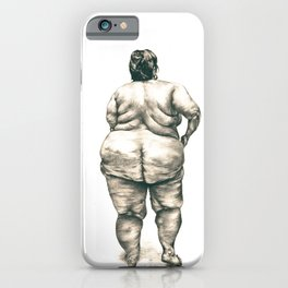 Woman in Shower iPhone Case