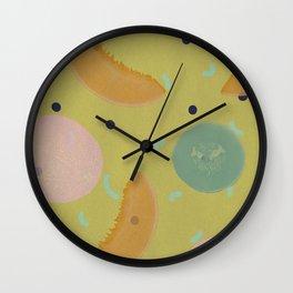 Cantaloupe Wall Clock