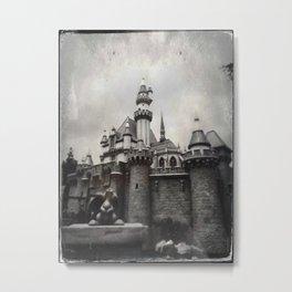 Sleeping Beauty Castle by Topher Adam 2017 Metal Print
