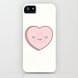 Pink Sweet Candy Heart iPhone Case