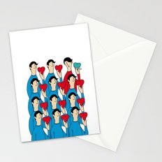different heart Stationery Cards