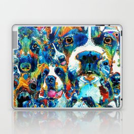 Dog Lovers Delight - Sharon Cummings Laptop & iPad Skin