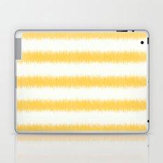 Ikat Stripe Yellow Laptop & iPad Skin