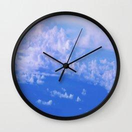 Cloud mountains Wall Clock