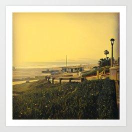 Coastal View One Art Print