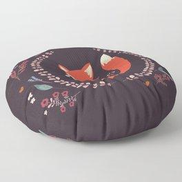 Cute Little Fox Floor Pillow