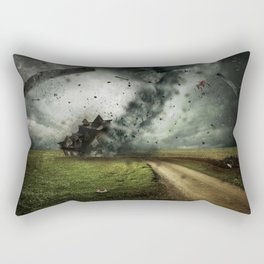Cyclone-tornado Rectangular Pillow